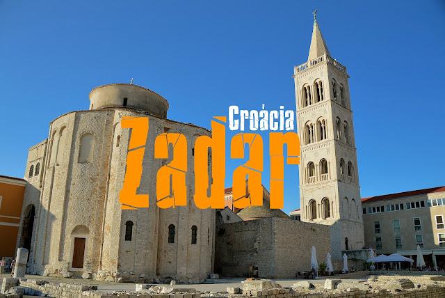 O que visitar em Zadar, Croácia