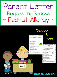 https://www.teacherspayteachers.com/Product/Parent-Letter-Classroom-Snacks-with-Peanut-Allergy-1934660