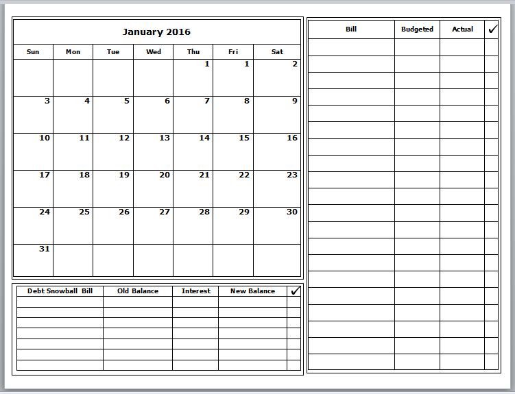 grace christian homeschool free 2016 budget calendars