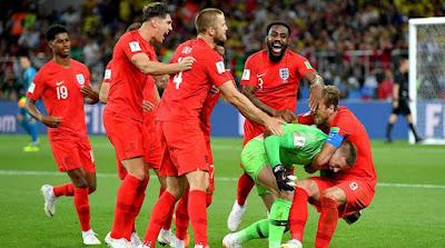 Highlight Kolombia 1-1 Inggris, 3 Juli 2018