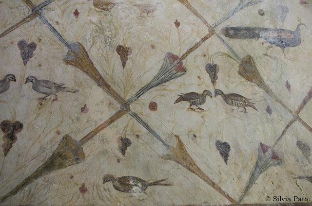 Pintura Santa Eulalia de Bóveda
