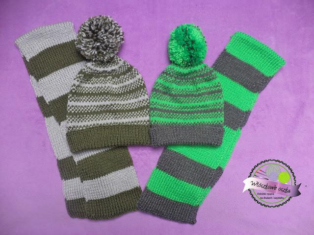 Serdeczne czapki i szaliki