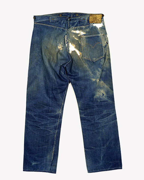The oldest jeans 501xx from Levis archive