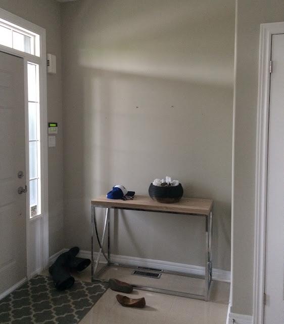 Home Sense Foyer : Mini foyer makeover harlow thistle home design