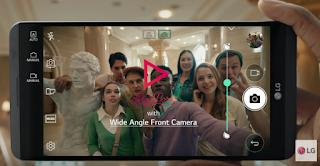 LG V20 Camera Front