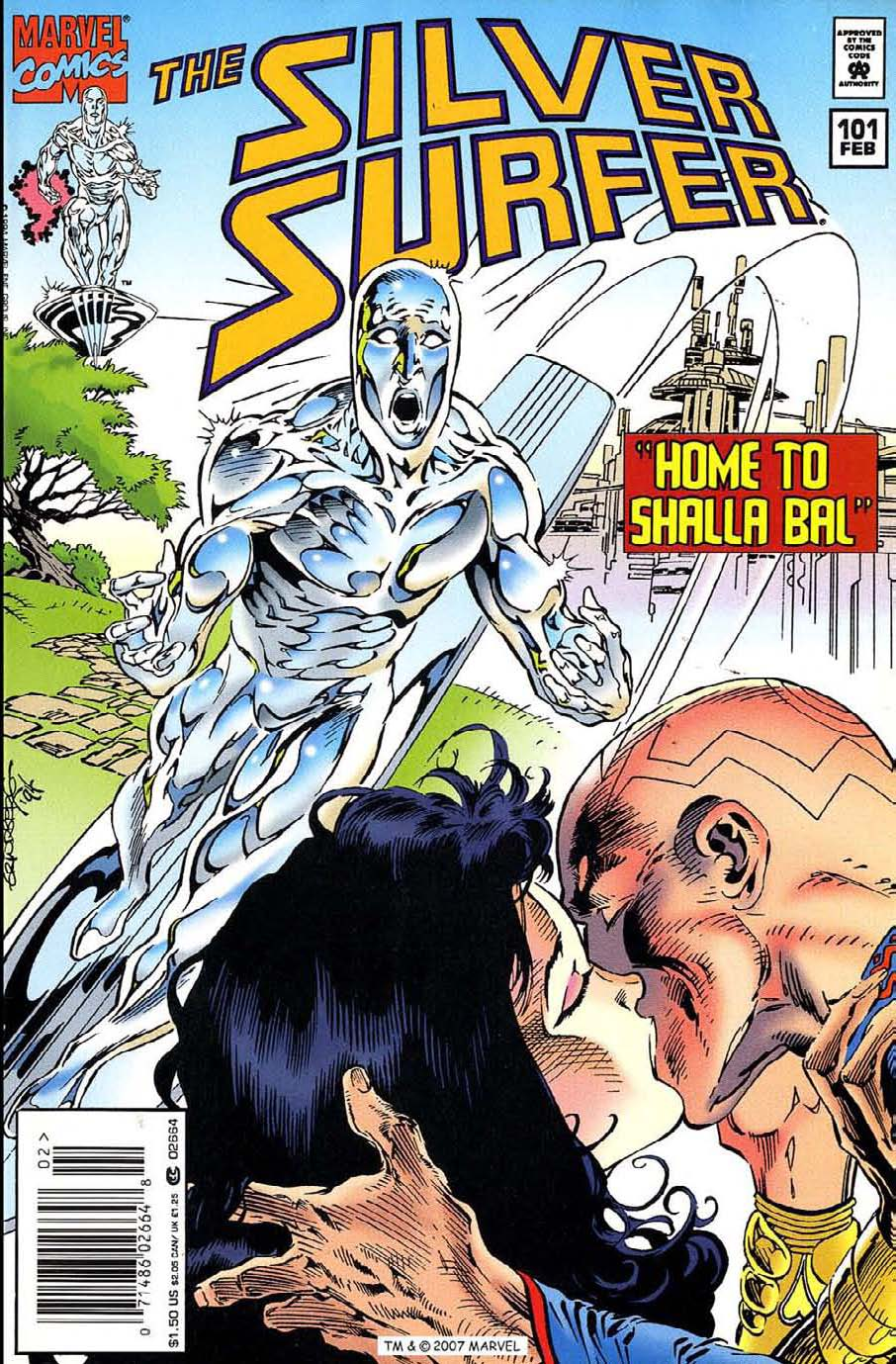 Silver Surfer (1987) Issue #101 #109 - English 1