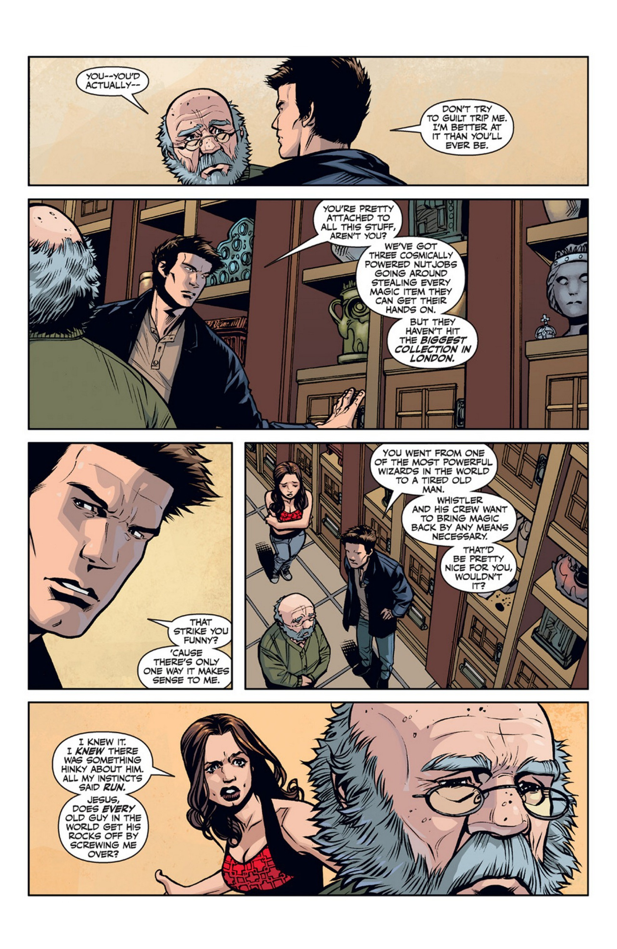Read online Angel and Faith comic -  Issue #21 - 9