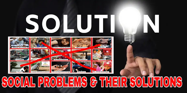 Social Problems and Their Solutions - Social Book Class 9
