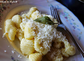 My friend taught me how to make gnocchi...