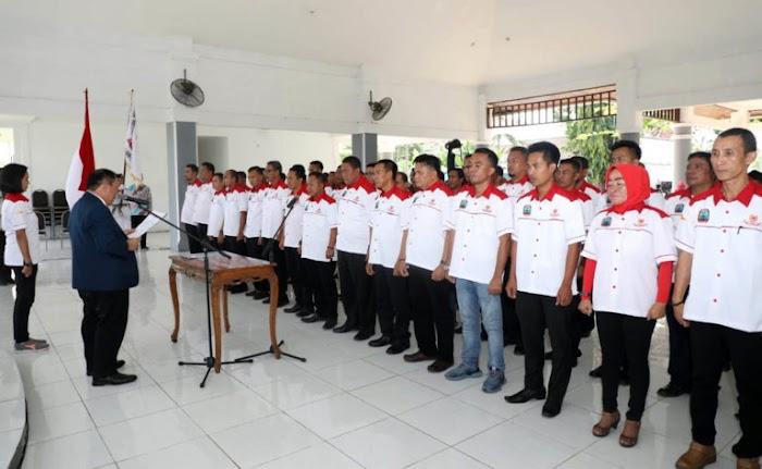 Komite Olahraga Nasional Indonesia Lamsel Priode 2018-2022 Resmi Di Lantik.