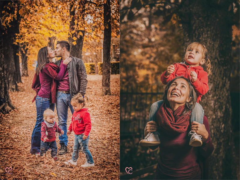 Fall mini session, fotografo di famiglia a Chieri