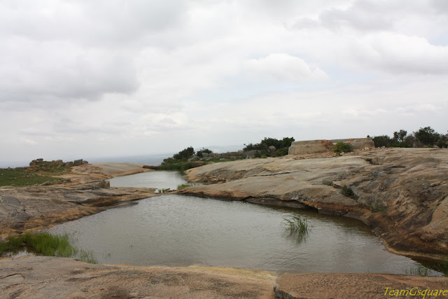 Paparajanahalli fort, Anataragange hills Kolar
