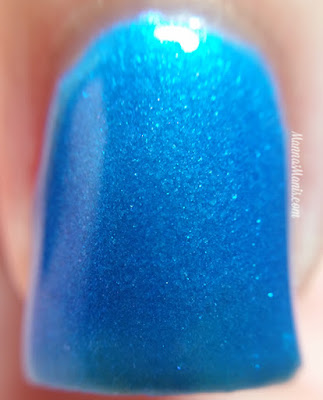 SinfulColors Keira Blu swatches