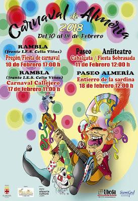 Almería - Carnaval 2018 - En Carnaval, serpentina y a cantar - Francisco Javier Martínez Barroso
