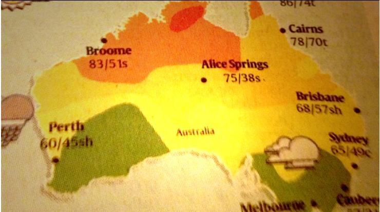 Map Of Australia Joke.Peter Martin Rebranding South Australia No Joke