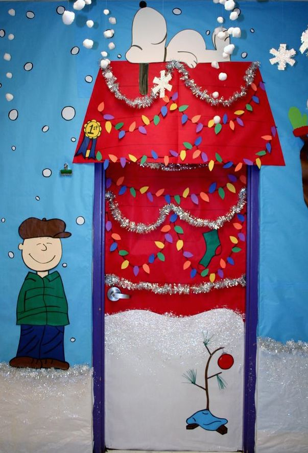 last but not least the ugly christmas sweater door