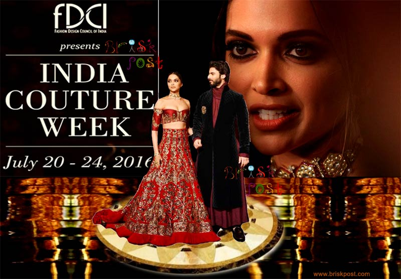 Opulent Walk of Deepika Padukone & Fawad Khan at Manish Malhotra in India Couture Week 2016 (ICW2016)