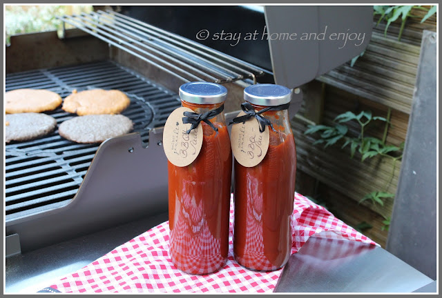BBQ-Sauce homemade - stay at home and enjoy