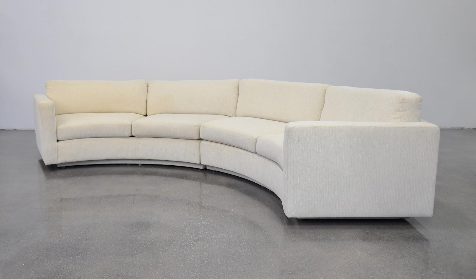 Select Modern Milo Baughman For Thayer Coggin White