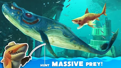 Hungry Shark World Mod v1.4.2 Apk Terbaru