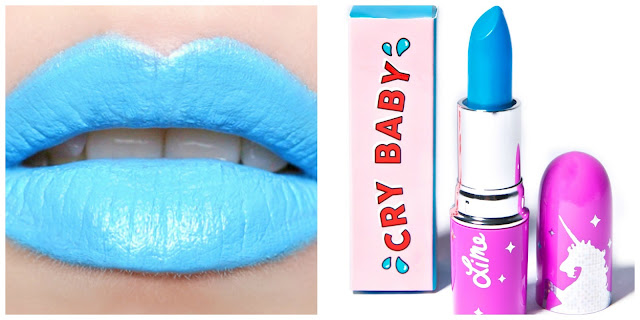 Blue Lipstick Limecrime
