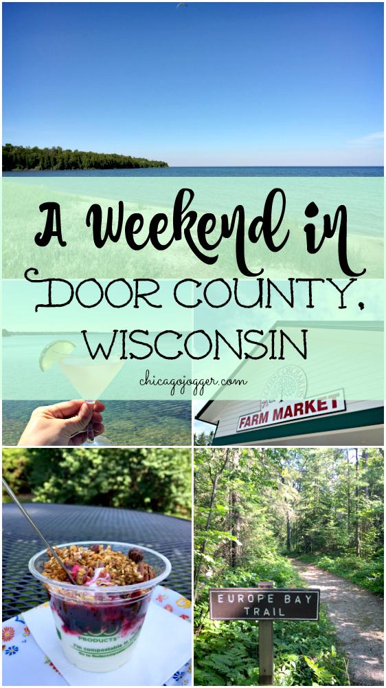 Chicago Jogger A Weekend In Door County Wisconsin