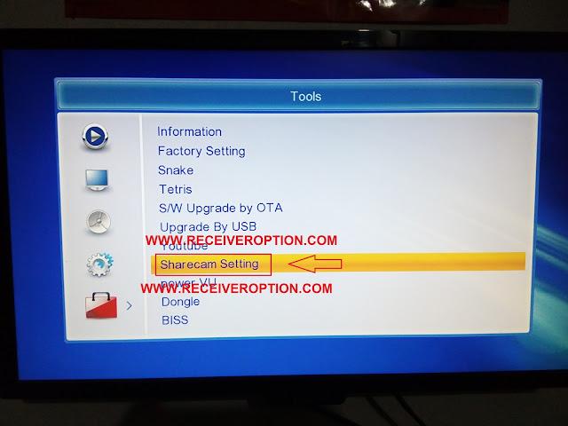 STAR TREK 6000 HD RECEIVER CCCAM OPTION