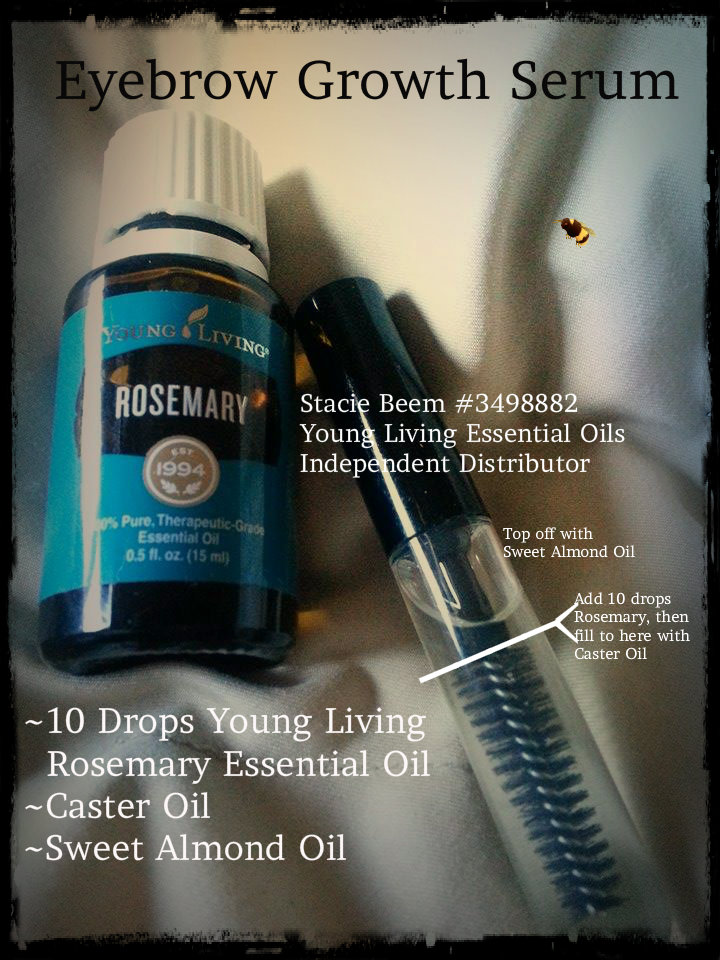 You Know I Love to Share: Eyebrow Serum DIY Rosemary