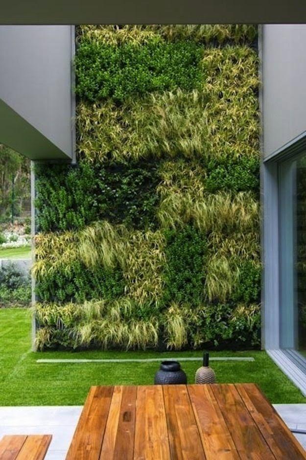 Ideas para decorar un jard n vertical casas decoracion - Ideas para jardines de casas ...