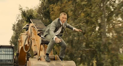Daniel Craig as James Bond Skyfall stunts