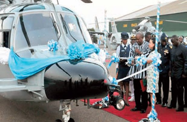Ghana Gas Helicopters Missing