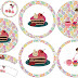 Girls Tea Party: Free Printable Cupcake Toppers and Wrappers.