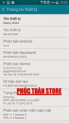 Tiếng Việt và CH Play Samsung N9109W alt