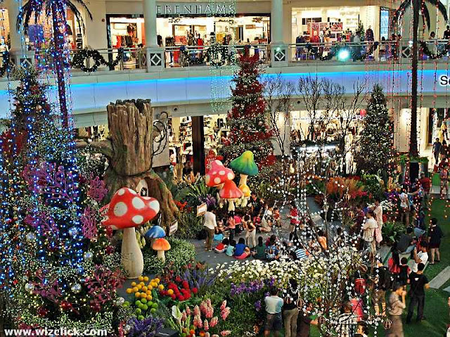 Whimsie Forest -- The Curve Shopping Mall 2012 Christmas decoration