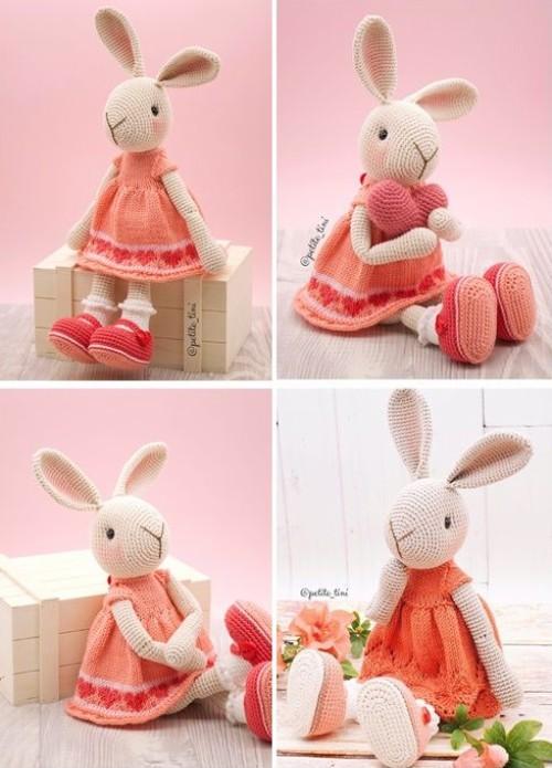 Amigurumi Bunny - Free Pattern