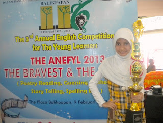 Juara Pertama Poetry Reading THE ANEFYL 2013