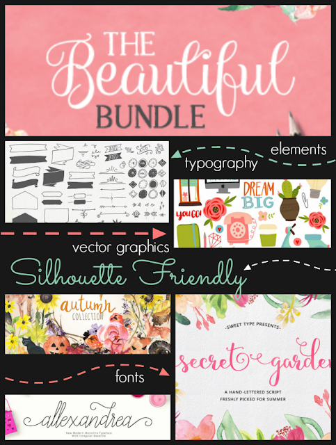 Silhouette, Silhouette Studio, watercolors, fall designs, fonts