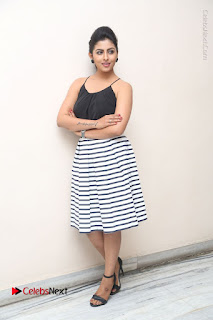 Telugu Actress Kruthika Jayakumar Stills in Short Dress at Intlo Deyyam Nakem Bhayam Success Meet  0282.JPG