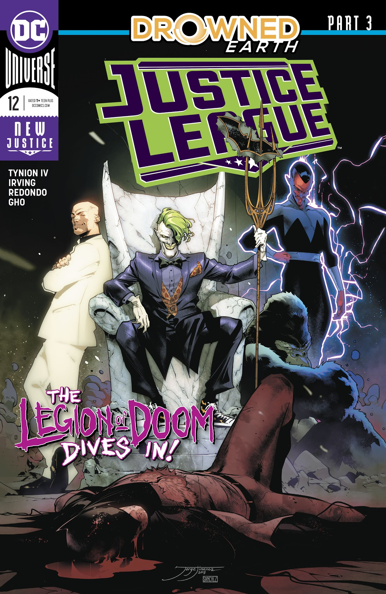 Justice League (2018) 12 Page 1