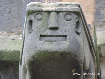 Gargoyle, St Michael, Coxwold, Yorkshire