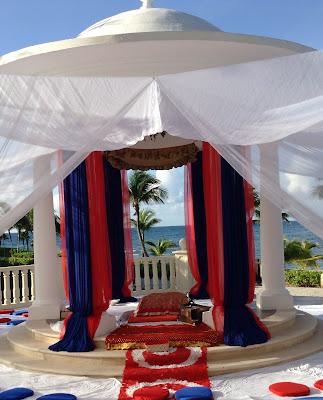 Barceló Riviera Maya Beach Sikh Wedding Mexico