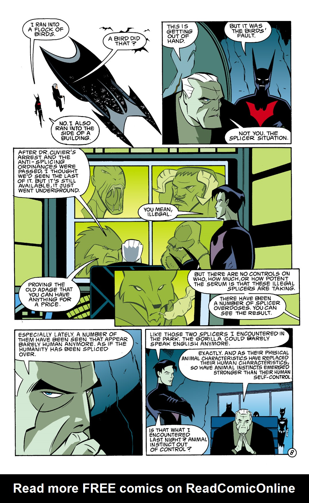 Batman Beyond [II] Issue #3 #3 - English 9