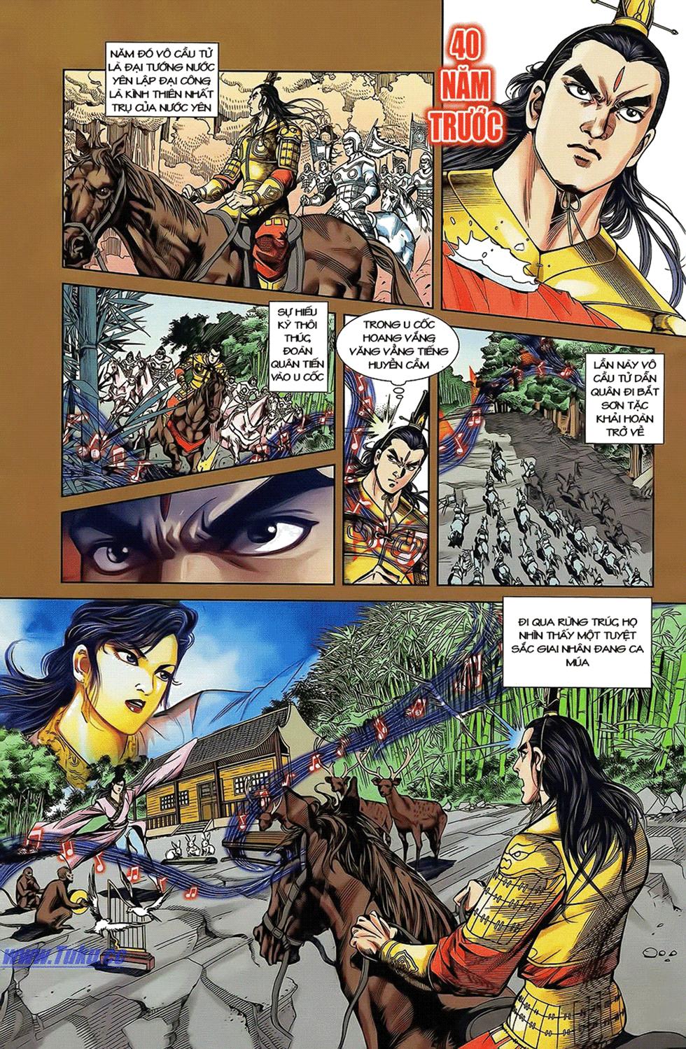 Tần Vương Doanh Chính chapter 14 trang 5