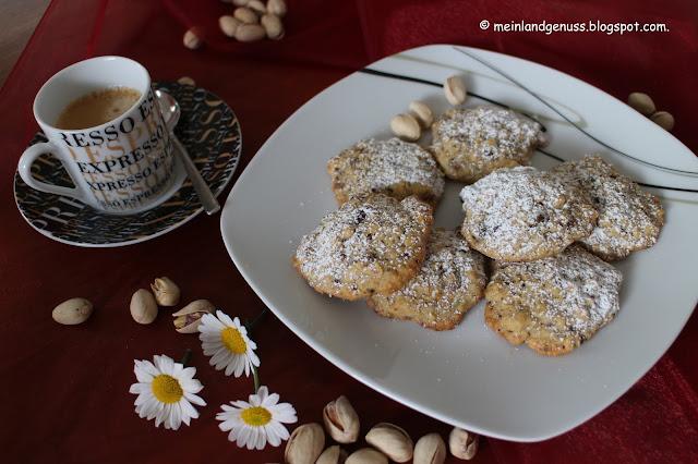 Haferflocken-Pistazien-Cookies