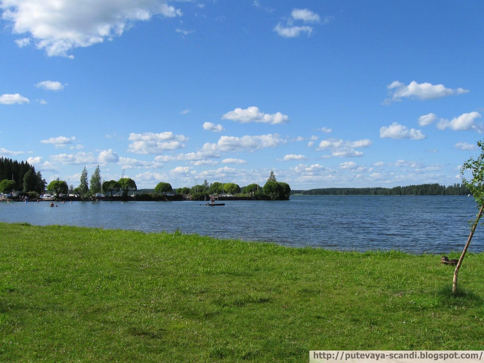 Финляндия летом