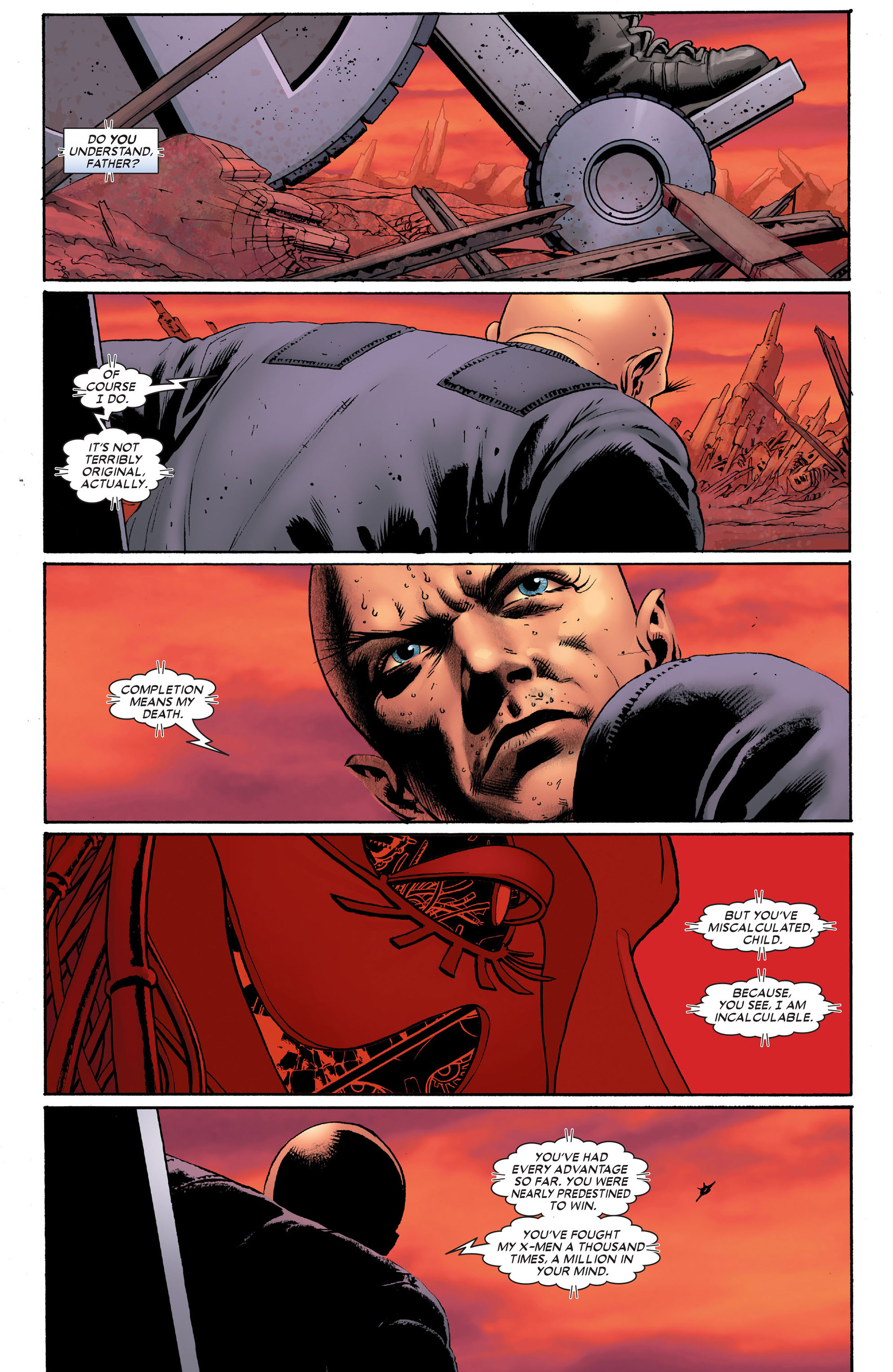 Read online Astonishing X-Men (2004) comic -  Issue #10 - 24