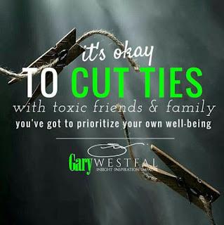 Cut the ties