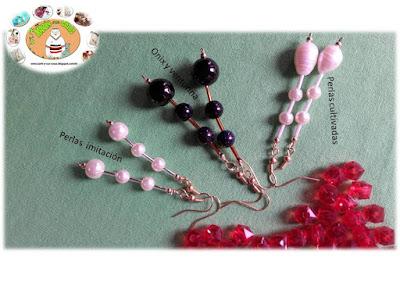 Onix , Perlas cultivadas y de imitacion