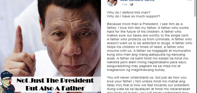 """""""Because more than a President, I see him as a father, I love him like my father."""" - Netizen answers question why does he defend President Duterte?   PTN"""