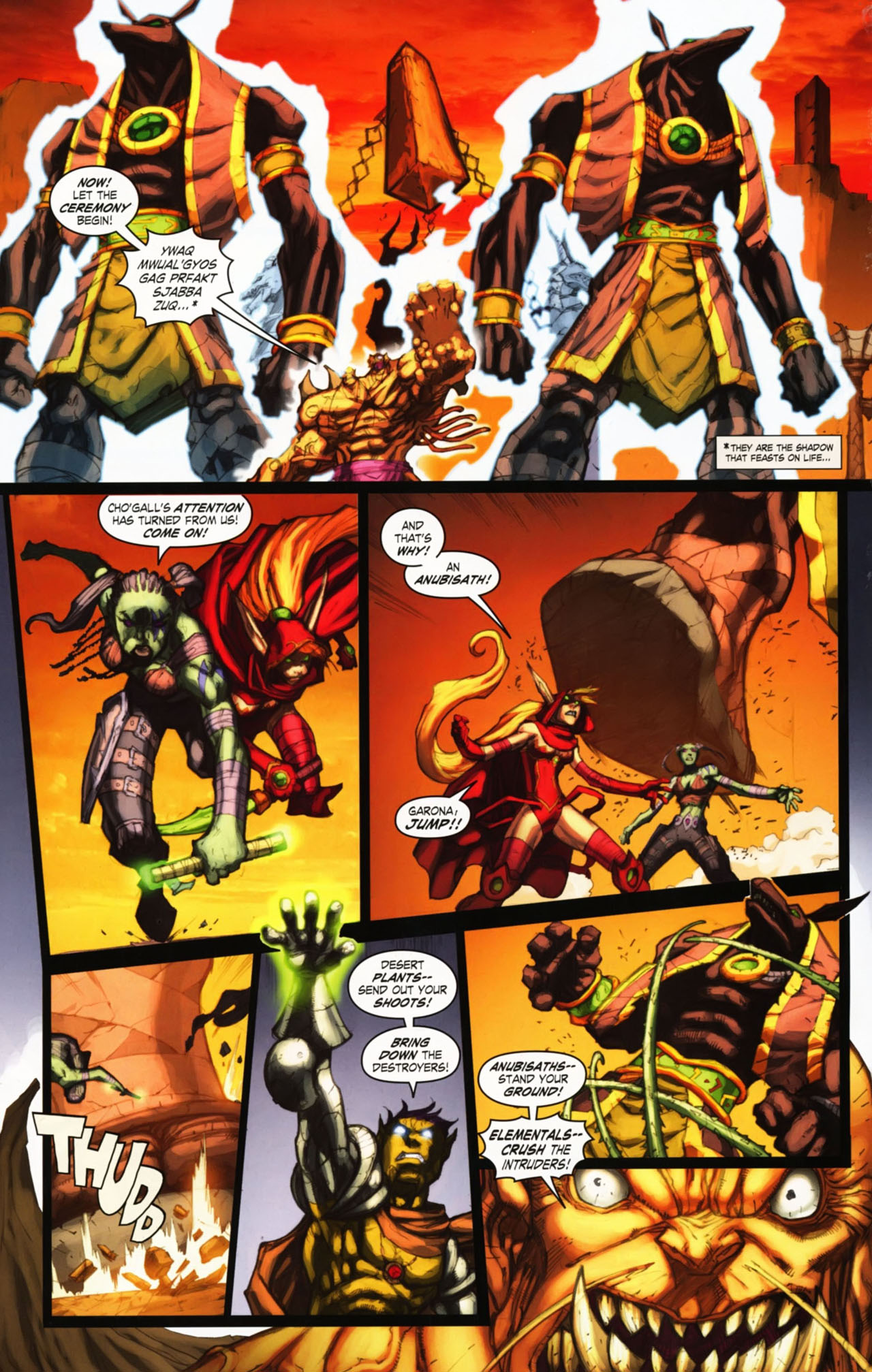 Read online World of Warcraft comic -  Issue #25 - 17